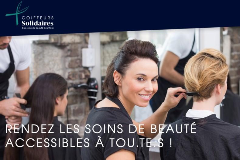 Rendez les soins de beauté accessibles à tou.te.s. Rejoignez les coiffeurs solidaires !